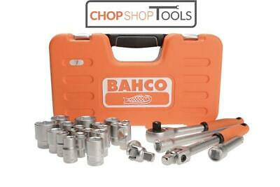 """NEW BAHCO SOCKET SET Square Drive 1/2"""" DRIVE 24 piece S240"""