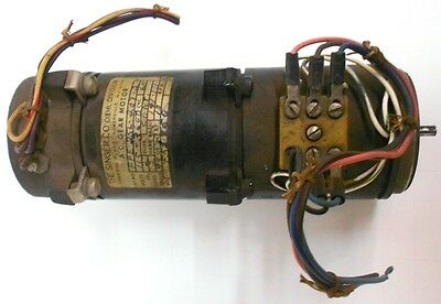 THE SINGER CO A.C. GEAR MOTOR CAT NO: FPE-25L-207-2, VOLTS: 115-36CT, CYC: 60