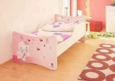 BEST FOR KIDS KINDERBETT BETT JUGENDBETT 3 DESIGNS 70x140 80x160 90x180 90x200
