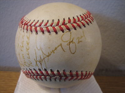 Ken Griffey Jr.SIGNED Autographed 1999 Official Safeco Field Baseball Mariners