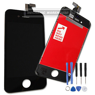 Front Complete LCD Glass Display Touch Screen Digitizer & Tools For iPhone 4S