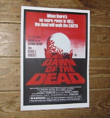 Dawn of the Dead Repro Film POSTER rd