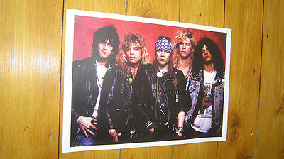 Guns n Roses Supergroup POSTER Axl Rose red
