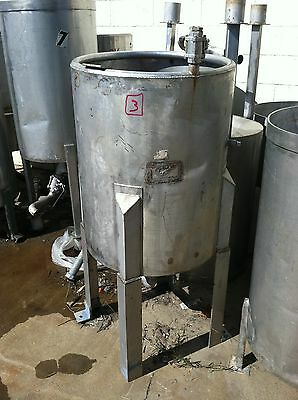 Used - 60 Gallon Stainless Steel Tank