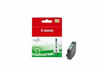 ORIGINAL CANON PGI-9 GREEN INK 1.6K pages @ 5% coverage, 14ML, UK VAT INCLUDED