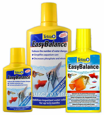 TETRA EASY BALANCE 100ml 250ml 500ml pH KH PHOSPHATE WATER BALANCE AQUARIUM