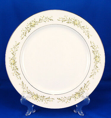 Grace Fine China RHAPSODY Chop Plate (Round Platter) 12 in. Yellow White Roses