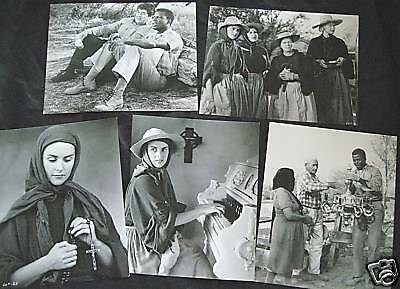 Sidney Poitier Lilies of the Field 5 Original 1960s Photos Oscar Role Best Actor