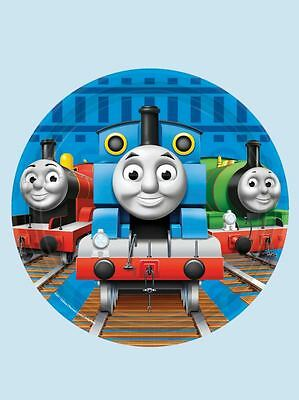 Amscan Thomas the Tank Engine Party Paper Dessert Plates 7 In. 8 Ct