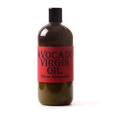 Avocado Virgin Carrier Oil - 100% Pure - 500ml (OV500AVOCVIRG)