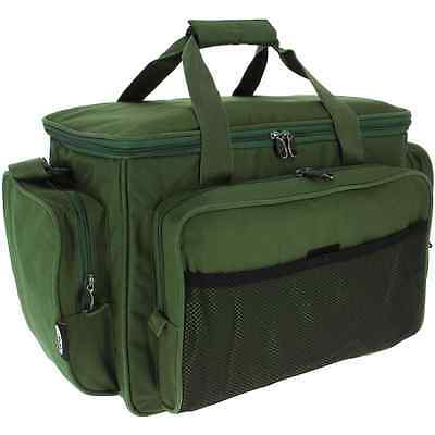 Brand New Carp Fishing Green Carryall Padded Fully Insulated Carp Bag 709