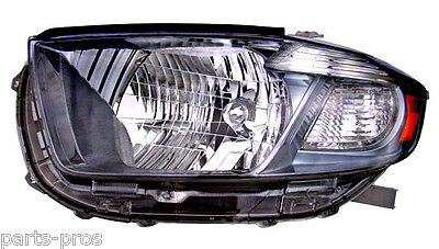 New Replacement Black Headlight Assy LH / FOR 2008-2010 TOYOTA HIGHLANDER SPORT