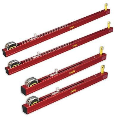 New Longacre Chassis Height Gauge Set Of 2 Short & 2 Long,78326,measurement Tool