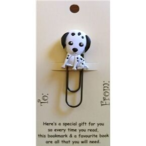 Dalmation Funky Paper Clip Style Bookmark/Gift Card Party Bag/Loot Bag