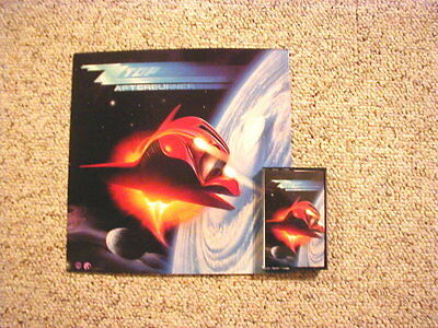 "ZZ Top ""Afterburner"" Display (Boxed)"