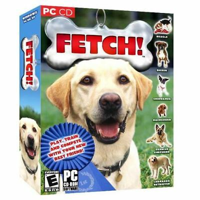 Fetch Virtual Pet Dog Dogz SIM Game~NEW Sealed PC XP