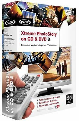 Xtreme Photostory On CD & DVD 8 Create Slideshow PC NEW