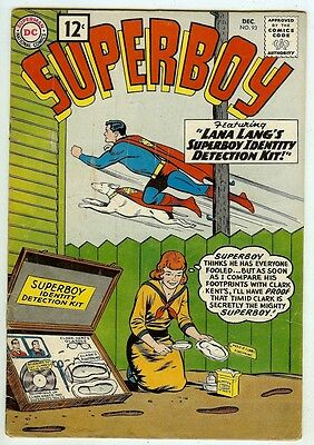Superboy #93 (1961 fn- 5.5) 10th Legion appearance - guide value: £33.00 (£22)