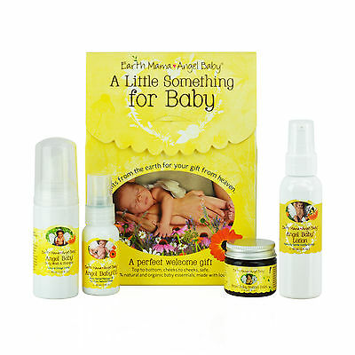 A Little Something For Baby - Earth Mama Angel Baby Gift Set