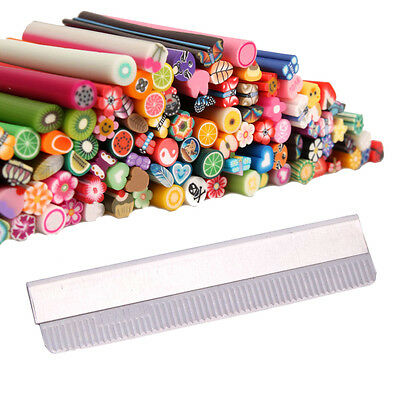 New 100Pcs Cute 3D Nail Art Fimo Canes Rods Decoration + Fimo Canes Rods Blade