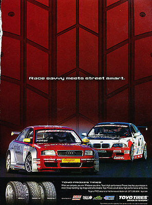 2005 Toyo Tires Racecar - Savvy - Classic Vintage Advertisement Ad D25