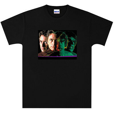 The Incredible Hulk Lou Ferrigno T Shirt New Black or White