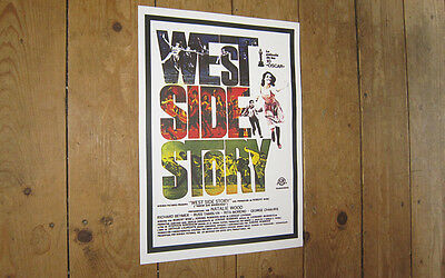 The West Side Story Repro POSTER White