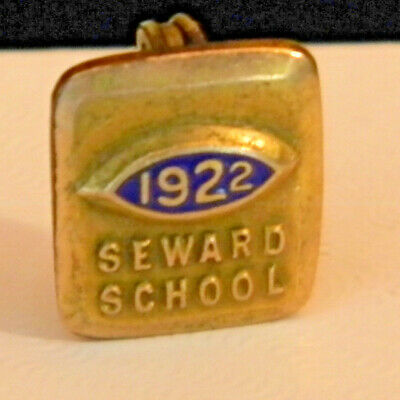 Seward School 1922 Pin made in Rochester NY (2306)