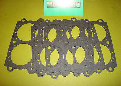 5 Pack Of Throttle Body Gasket For Holley 650 750 1 11/16 Bore Main Body To Base