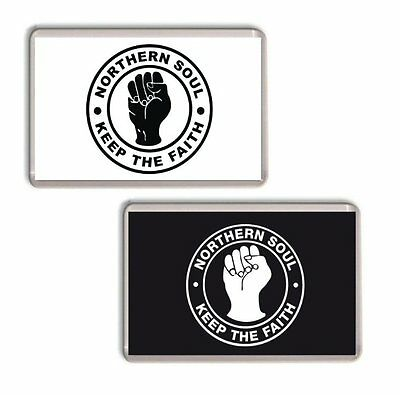 Northern Soul Fridge Magnet, Chose from 2 Colours
