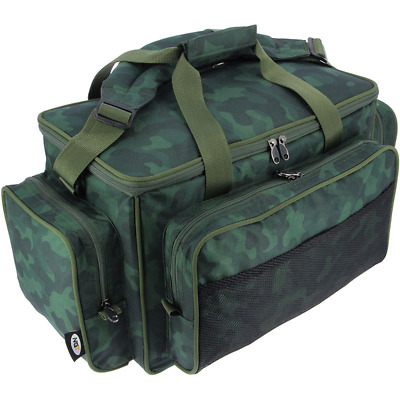 NGT Carp Fishing Camo Colour Bag Fully Insulated Padded Carryall Holdall 709C