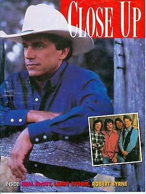 George Strait Nitty Gritty Dirt Band cover CMA Close Up magazine 1994