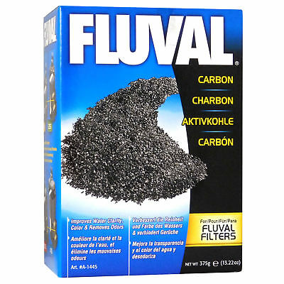 Hagen Fluval 375G External Filter Activated Active Carbon Fish Tank Media