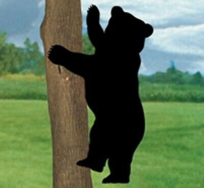 *NEW* Lawn Art Yard Shadow/Silhouette - Climbing Cub