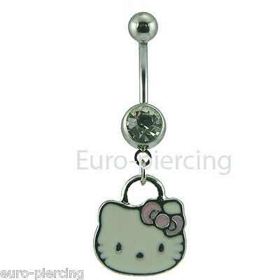 Piercing de Ombligo Hello Kitty