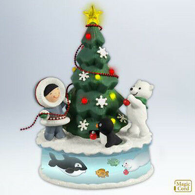 Hallmark Magic Cord Ornament 2012 Trimming the Tree - Frosty Friends - #QXG4561