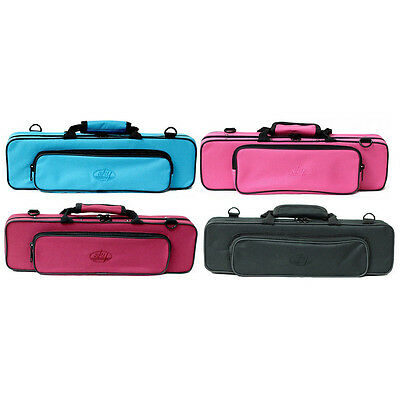 **GREAT GIFT**Classic Flute Case. Lightweight/Shoulder Strap/8 Colors CLEARANCE
