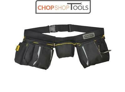 Stanley Multi Pocket Tool Pouch with Hammer Loop and Work Belt STA196178