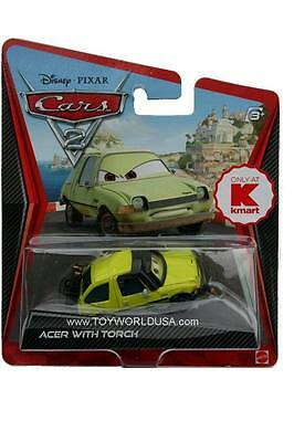 Disney Cars 2 Acer with torch KMART exclusive