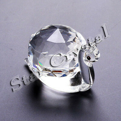 Crystal snail minature ornament boxed lovely gift new