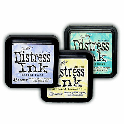Tim Holtz Limited Edition Spring Distress Inks and Re-inkers NIP