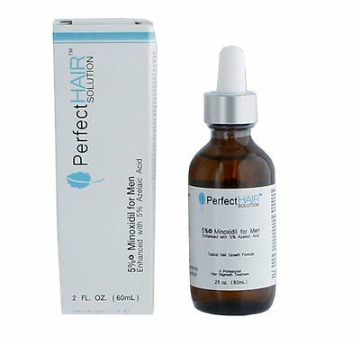 Perfect Hair 5% Minoxidil Solution for men with thinning hair and hair loss
