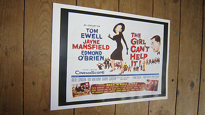 Jayne Mansfield The Girl Can't Help It Repro Film POSTER