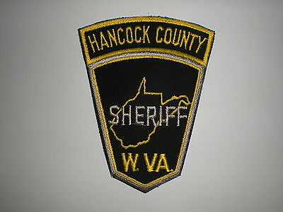 Hancock County, West Virginia Sheriff's Department  Patch