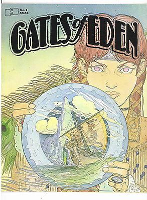 Gates of Eden #1, Fantaco 1982, early independent Kaluta, Russell, Starlin, VFNM
