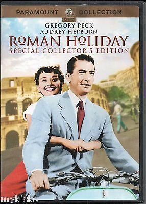 DVD - ROMAN HOLIDAY - Gregory Peck & Audrey Hepburn SPECIAL COLLECTOR EDITION VG