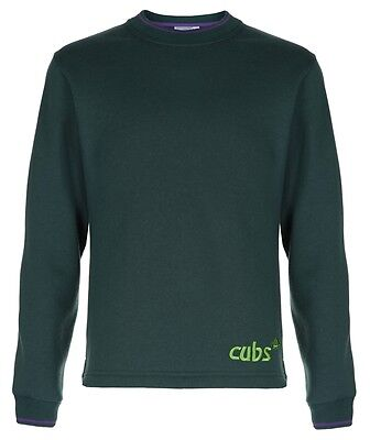 OFFICIAL CUB SWEATSHIRT NEW STYLE all Sizes. Official Supplier.
