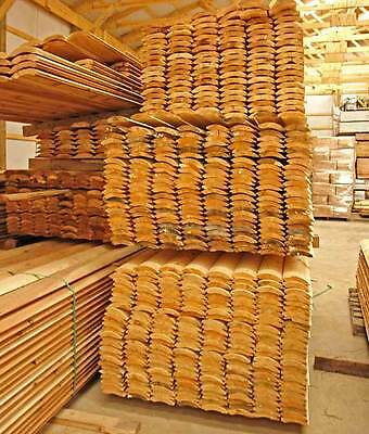 2x6 Western Cedar Log Siding/ Premium Grade / We ship