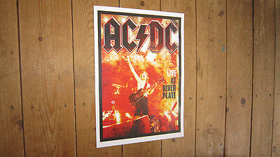 AC DC Riverplate Repro Tour acdc POSTER