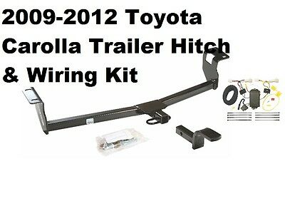 2010 2013 toyota tundra trailer hitch w oem replacement wiring 2009 2013 toyota corolla trailer receiver tow hitch w wiring harness kit new